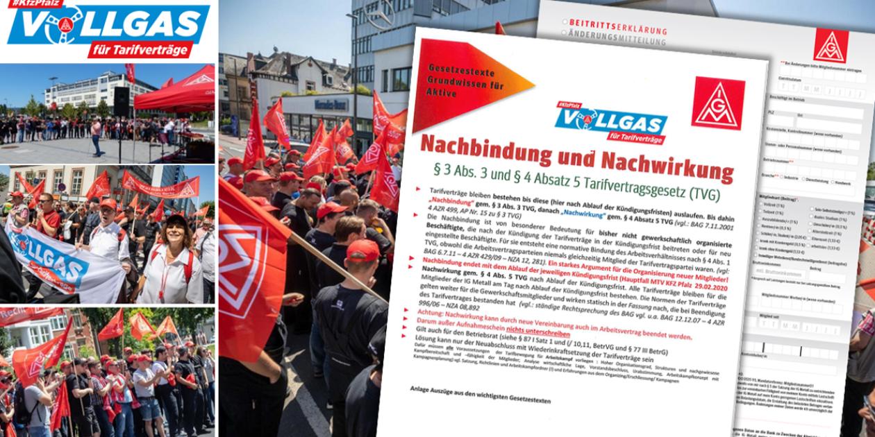 Kündigung der Tarifverträge im KFZ Handwerk Pfalz - Auf diese Vorteile müssen Nicht-Mitglieder bald verzichten