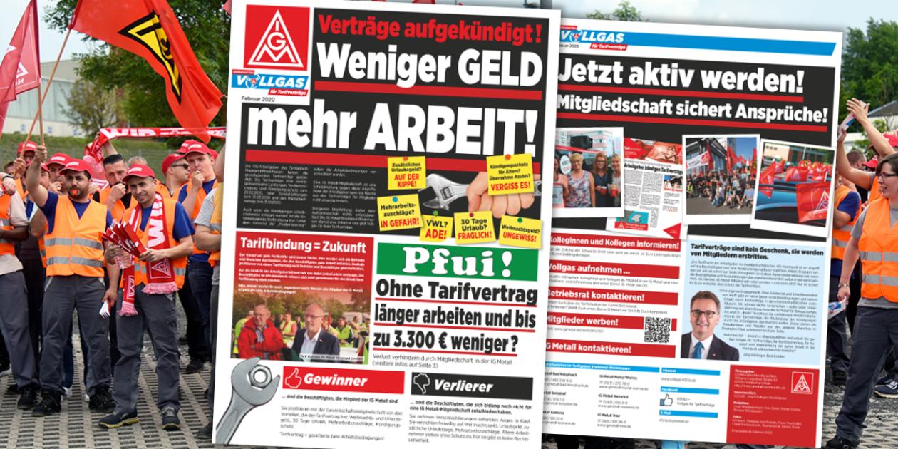 Tarifflucht auch im rheinland-pfälzischen Kfz-Gewerbe? Mitgliedschaft sichert Ansprüche!