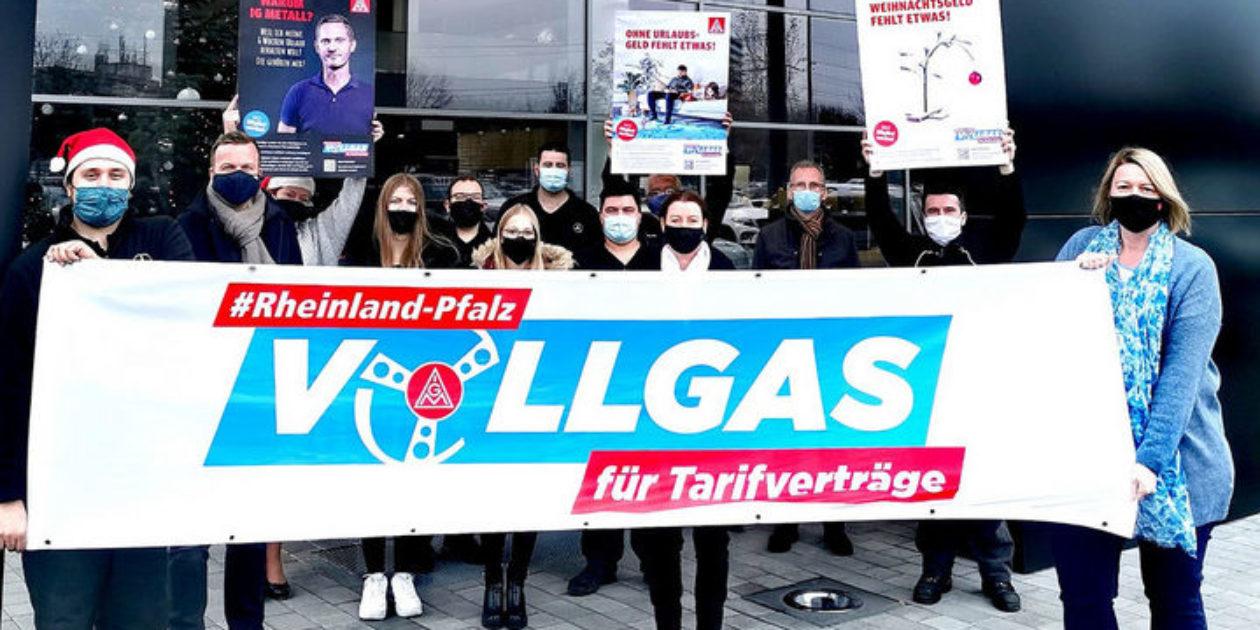 Mercedes-Betriebe in Rheinland-Pfalz setzen ein Zeichen für Tarifbindung